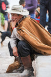 Gauchos on traditional festival in Purmamarca, province Jujuy Royalty Free Stock Photo