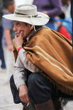 Gauchos on traditional festival in Purmamarca, province Jujuy Stock Photo