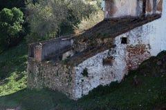 Gaucin、场面和白色村庄特点安达卢西亚 库存图片
