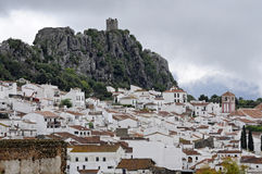 Gaucin village (Malaga) Royalty Free Stock Photos