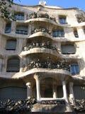 Gaudà byggnad på Barcelona 2008 Royaltyfri Foto