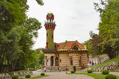 Gaudí`s Capricho Comillas Stock Photography
