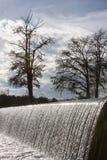 Gaudalupe-Fluss-Wehr Stockbild