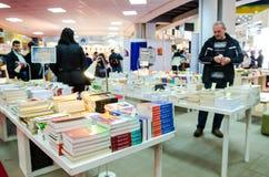 Gaudeamus书市,布加勒斯特,罗马尼亚2014年 免版税库存照片