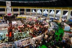 Gaudeamus bokmarknad, Bucharest, Rumänien 2014 Fotografering för Bildbyråer
