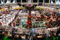 Gaudeamus bokmarknad, Bucharest, Rumänien 2014 Arkivbilder