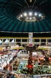 Gaudeamus bokmarknad, Bucharest, Rumänien 2014 Arkivbild