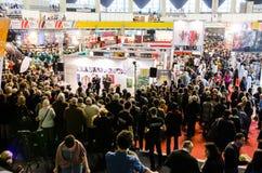 Gaudeamus bokmarknad, Bucharest, Rumänien 2014 Royaltyfria Bilder