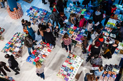 Gaudeamus Book Fair, Bucharest, Romania 2014 Royalty Free Stock Photos