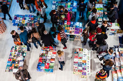 Gaudeamus-Buch-Messe, Bukarest, Rumänien 2014 Stockfotos