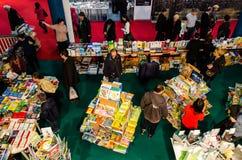 Gaudeamus-Buch-Messe, Bukarest, Rumänien 2014 Stockfotos