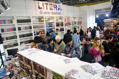 GAUDEAMUS International Book and Education Fair Stock Photos