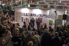 Gaudeamus Internationale Boek en Onderwijsmarkt 2014 stock fotografie