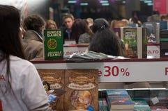 Gaudeamus internationell bok och utbildningsmässa 2014 Arkivfoto