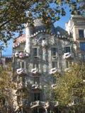 Gaudi住处Batllo 免版税库存图片