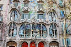 Gaudi大厦 库存照片