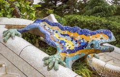 Gaudi蜥蜴  免版税库存图片
