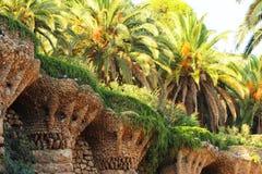 Gaudi, Барселона, Испания Стоковое Изображение