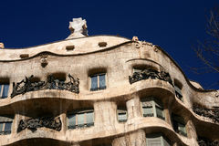 Gaudi Architecture Royalty Free Stock Photo