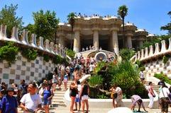 Gaudi architecture Stock Images