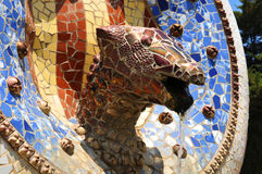Gaudi architecture Royalty Free Stock Image