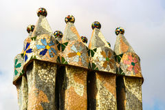 Gaudi architecture Stock Photography