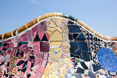 Gaudi Architecture - Park Guell Royalty Free Stock Images