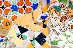 Gaudi Architecture - Park Guell Royalty Free Stock Photography