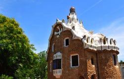 Gaudi arkitektur Royaltyfri Fotografi