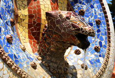 Gaudi art Stock Photography