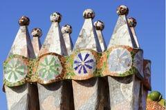 Gaudi, Barcelona, Espanha Fotografia de Stock
