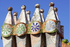 Gaudi, Barcelona, Spain stock photography