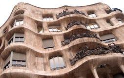 gaudi budynku. zdjęcia royalty free