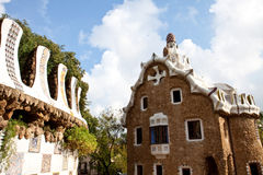Gaudi Building Royalty Free Stock Photos