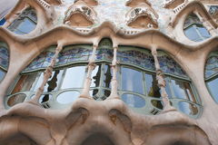 Gaudi building  Royalty Free Stock Image