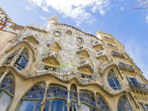 Gaudi Building in Barcelona 0611 Stock Photo