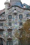 gaudi casa batllo στοκ φωτογραφία με δικαίωμα ελεύθερης χρήσης