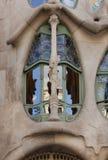 Gaudi. Casa Batllo in Barcelona. Spain. Stock Photos