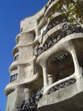 Gaudi Casa Mila Stock Images