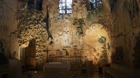 Gaudi in cattedrale di Palma de Mallorca immagine stock libera da diritti