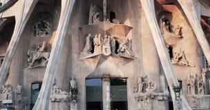 Gaudi church Royalty Free Stock Photo