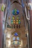 Gaudi domkyrka arkivfoton