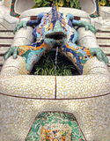 Gaudi Famous Lizard Royalty Free Stock Images