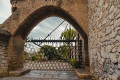 Gaudi Garraf, Catalonia, Spain. GARRAF, SPAIN - OCTOBER 11, 2016: Gaudi Garraf in the Catalonia, Spain Royalty Free Stock Images