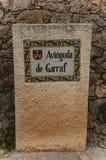 Gaudi Garraf, Spain. GARRAF, SPAIN - OCTOBER 11, 2016: Gaudi Garraf in province of Barcelona. Catalonia, northern Spain Royalty Free Stock Images