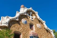 Gaudi hause Royaltyfri Fotografi
