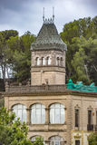 Gaudi House Museum in Barcelona Stock Photo