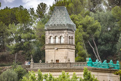 Gaudi House Museum in Barcelona Royalty Free Stock Image