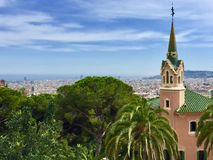 Gaudi House Museum, Barcelona Royalty Free Stock Images