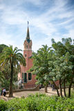 Gaudi House Museum in Park Guell, Barcelona, Spain Stock Photo